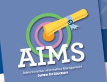 AIMS System for Teachers Website