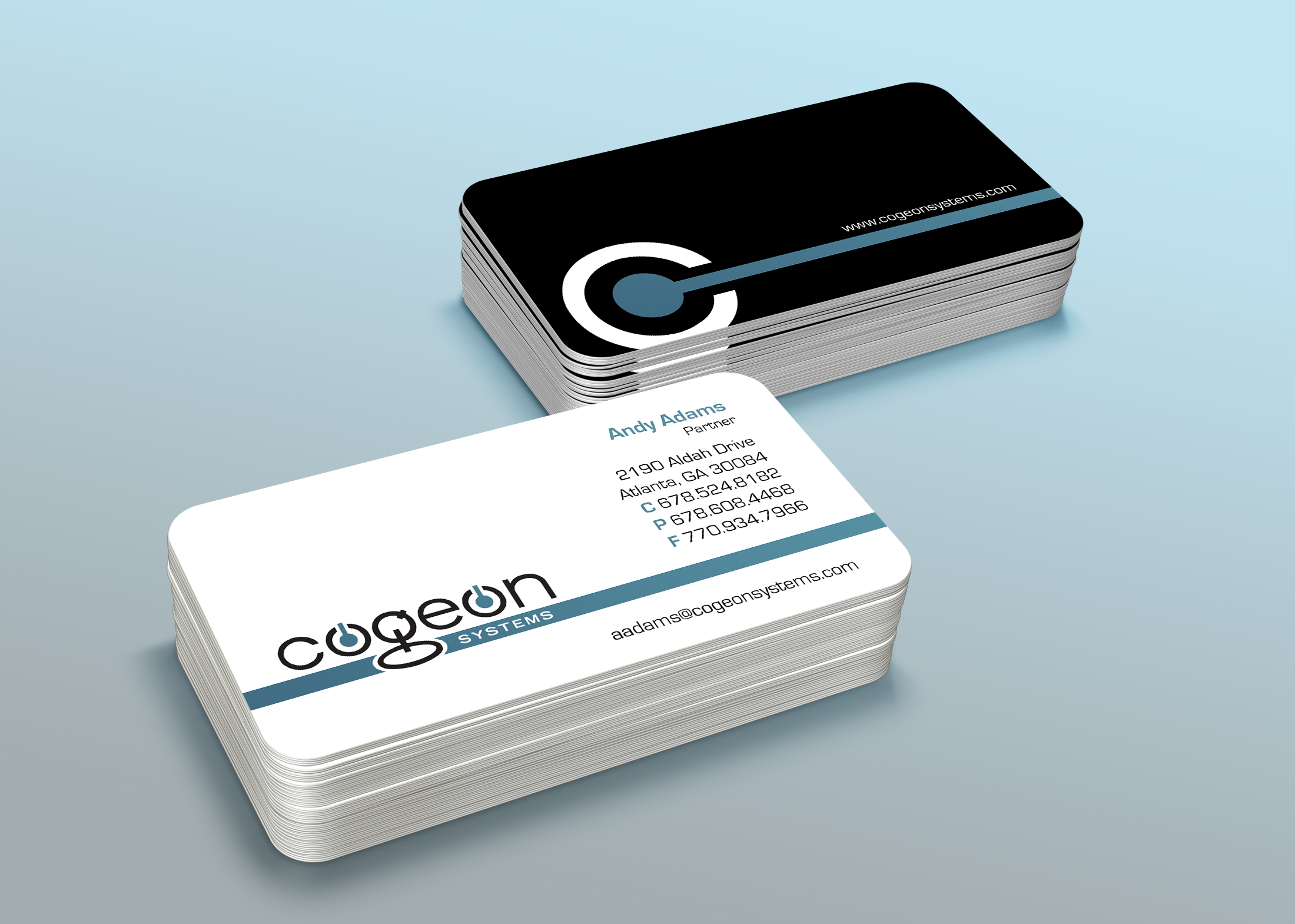 Ashley Rash Graphic Design » Cogeon Systems Logo & Business Card