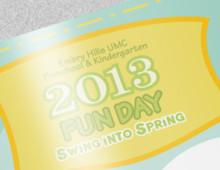 Embry Hills UMC Kindergarten Fundraiser Brochure