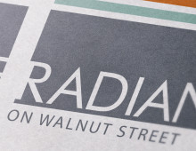 The Radian on Walnut Street Logo