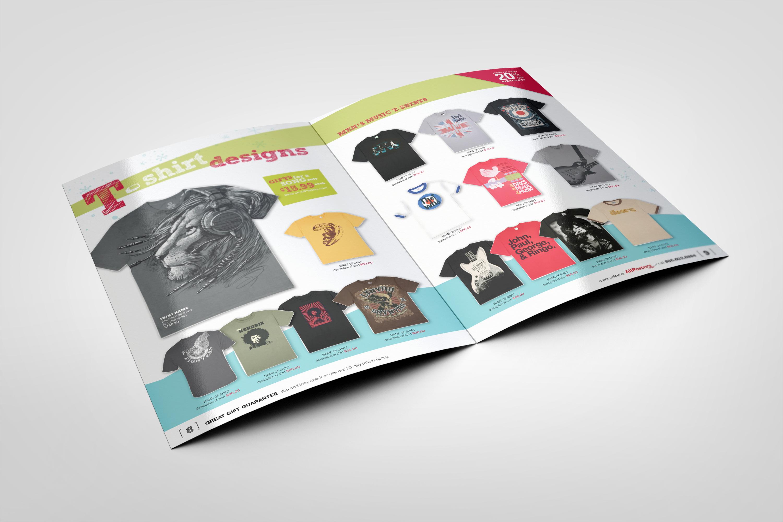 T-ShirtCatalogSpread