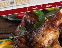 Buy The Pans Holiday Website